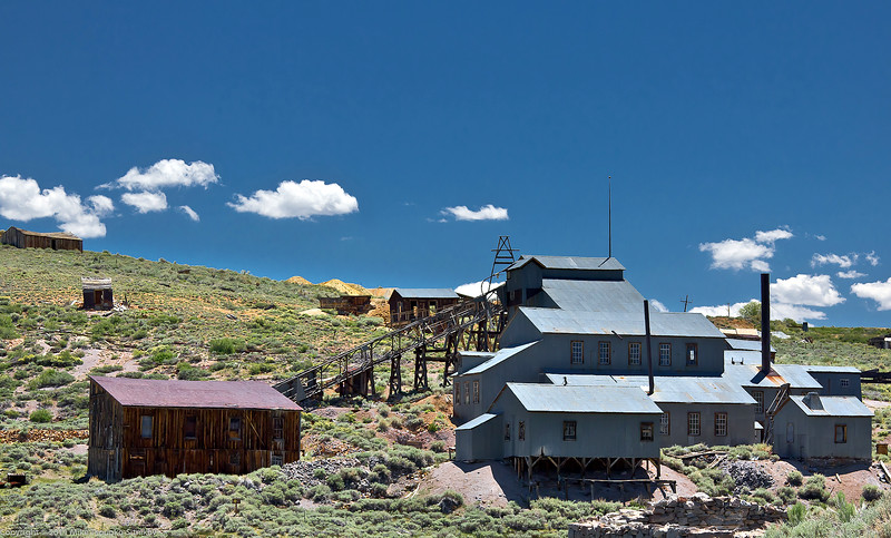 Bodie - the mine building