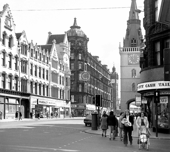 Trongate east from King St.  
