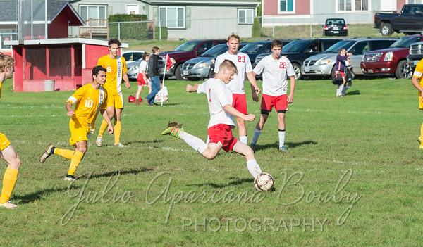 161018 CHS Boys Soccer vs NBHS