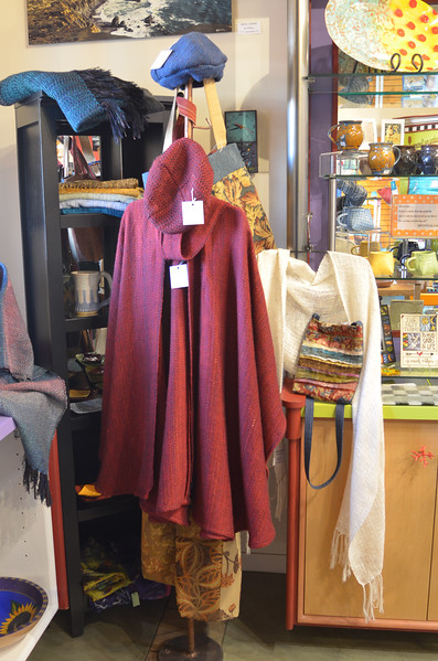 Red Shawl Vertical 1