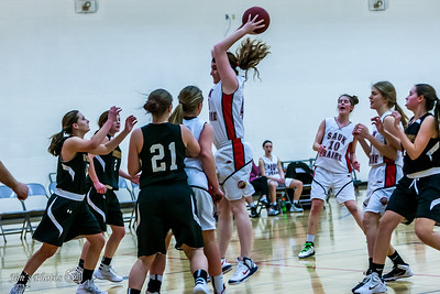 HS Sports - DeForest Girls Basketball [d] Jan 19, 2016