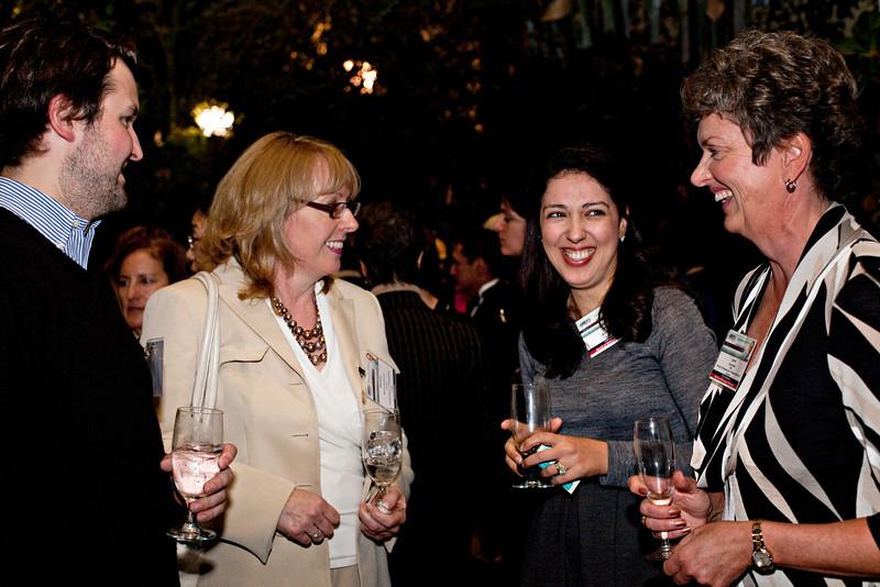 Opening reception at the US Botanical Garden, TIAW Global Forum 2012. Shot 10/17/12