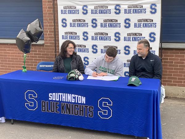 Southington Signing 2 11-17-20