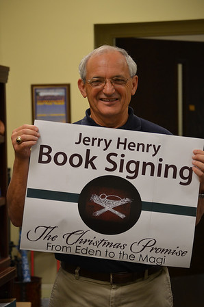 Jerry Henry Book SIgning