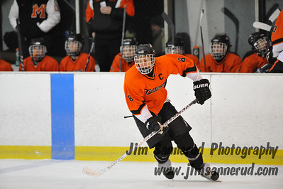 White Plains High School Tigers vs. Mamaroneck Tigers Varsity Ice Hockey at Ebersole Ice Rink