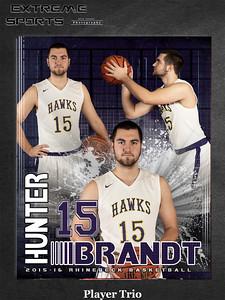 Rhinebeck Boys Varsity Basketball 2015-16