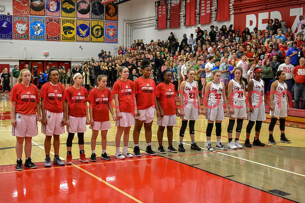 2018 CHS Girls Basketball - IC West
