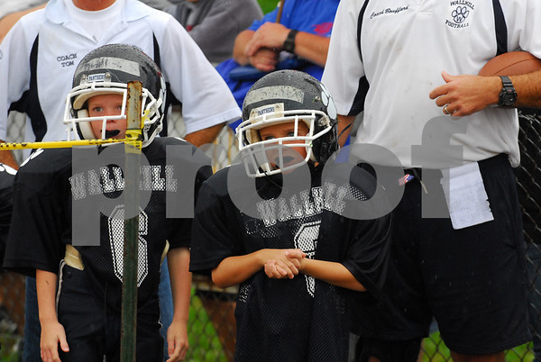 Wallkill Mighty Mites At Wallkill Varsity Game - 9-28-08