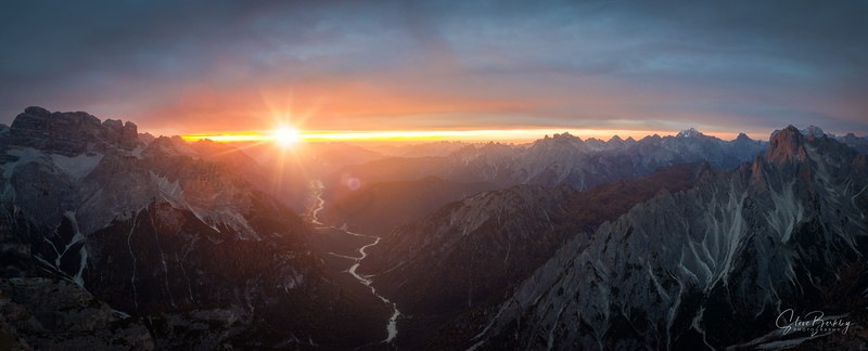 Dolomiti Sunset