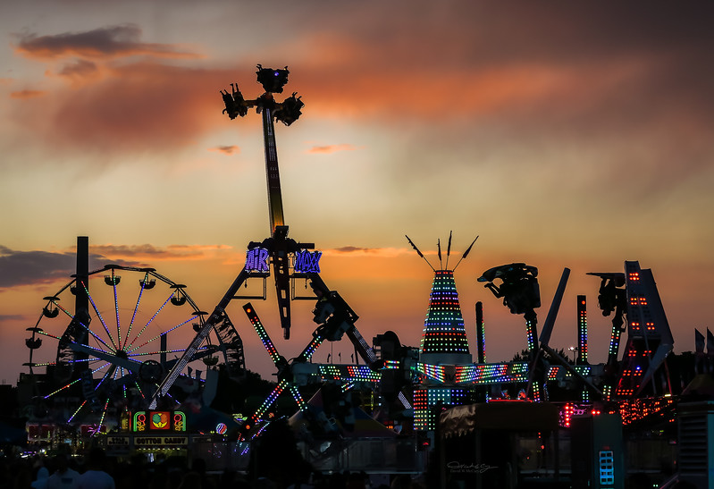 Midway at Dusk
