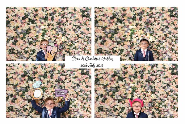 Glenn & Charlotte, Vintage Booth 20th July 2019
