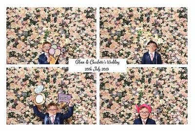 Glenn & Charlotte, Vintage Booth 20th July 2019