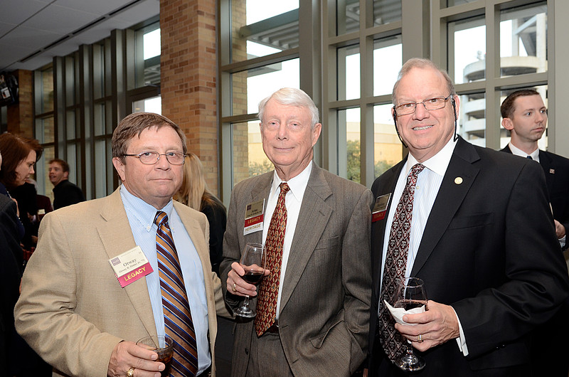 Otway Denny '71, Arno Krebs Jr '64, Stephen Pringle '71