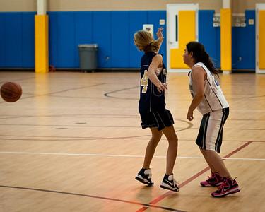 JV Girls St. Michael 1-30-2012