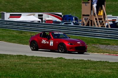 2021 SCCA Pitt Race Aug TT Warm 26 Miata HT