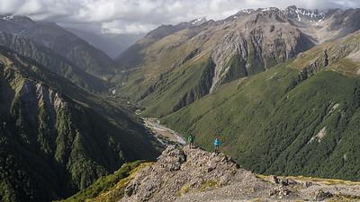 Avalanche Peak Mt Bealey Traverse Jan 2016