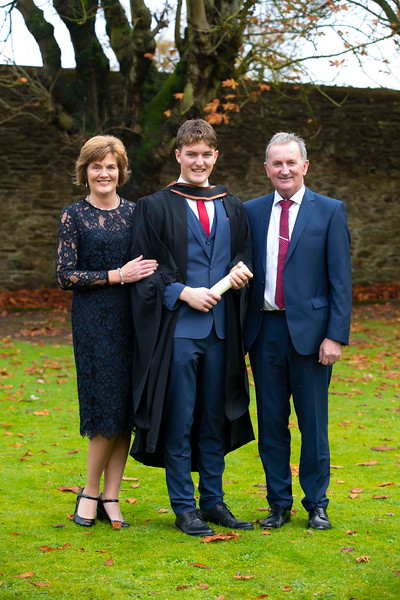 01/11/2019. Waterford Institute of Technology (WIT) Conferring Ceremonies. Pictured are Cian Hally from Bunmahon. Picture: Patrick Browne