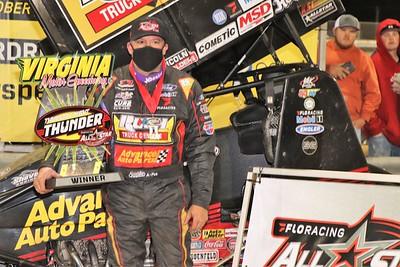 Virginia Motor Speedway - 410 sprint cars (4/15/21)