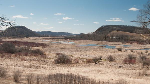 Ice Age Trail, Lodi Marsh Segments, April 2013