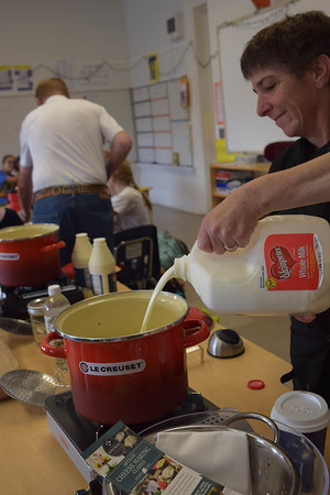 2017 Audubon French Cheese Making Class