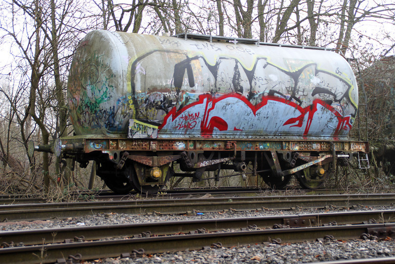 SUKO 67828 at Brentford Sidings 13/02/12