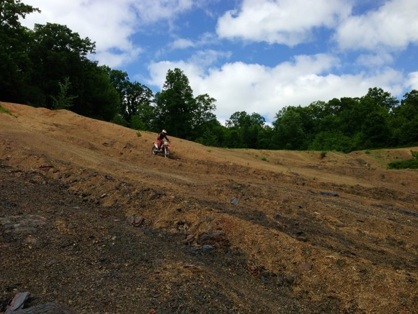 kenny in the gravel pit