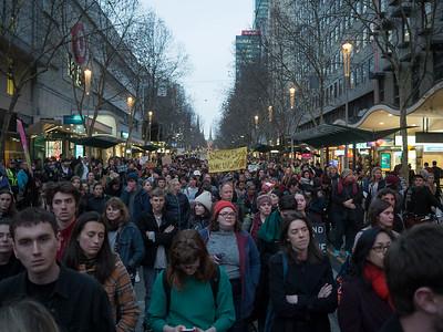 2017 Swanston St Protest