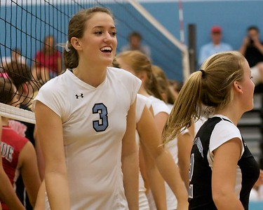 Ponte Vedra Sharks vs Creekside Volleyball District Playoffs 10-27-09