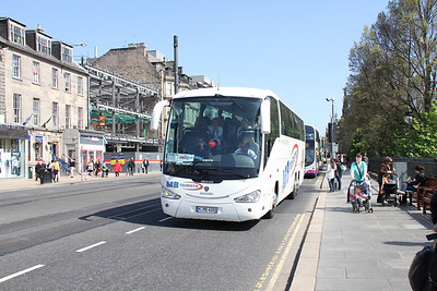 Foreign Buses in Scotland