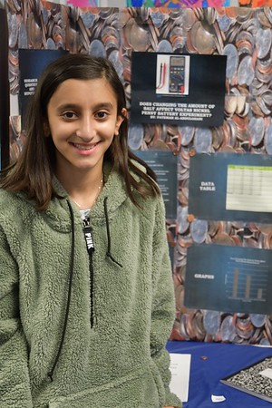 Sixth Grade Scientists Showcase Projects at the Experiment Expo