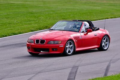 June 6 TNiA Novice Red BMW Z3