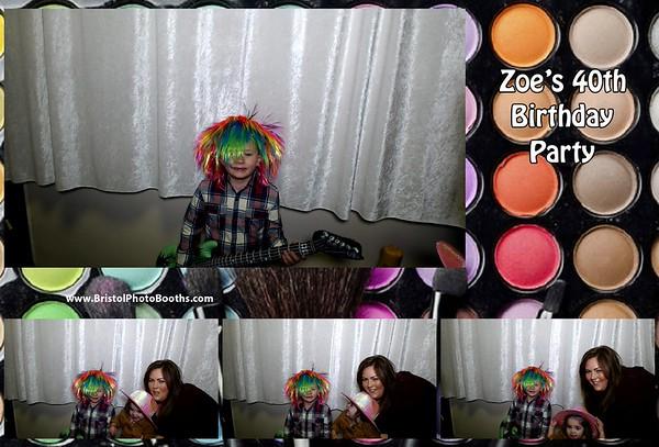 Zoe's 40th Birthday