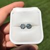 4.08ctw Old European Cut Diamond Pair, GIA I VS2, I SI1 62