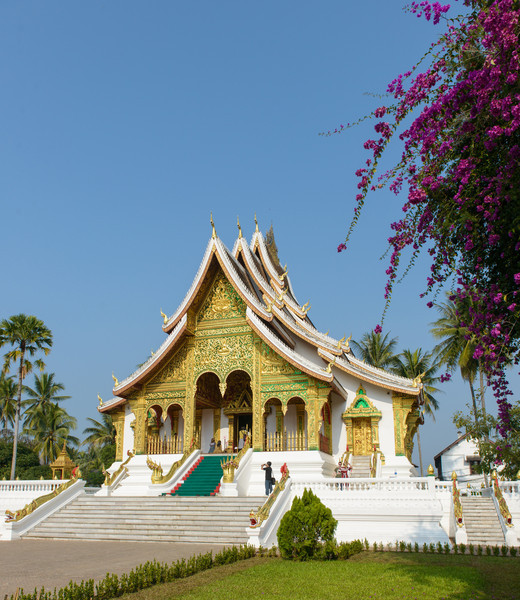 The buddhist temple in the grounds of the Royal Palace.