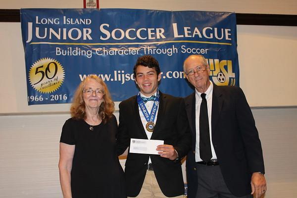 Long Island Junior Soccer League Scholarship Awards 2017