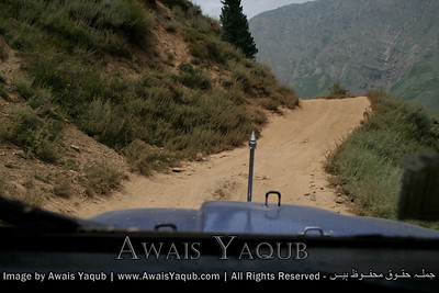 This is track to lalazar full of dust and dangerous ! becareful here