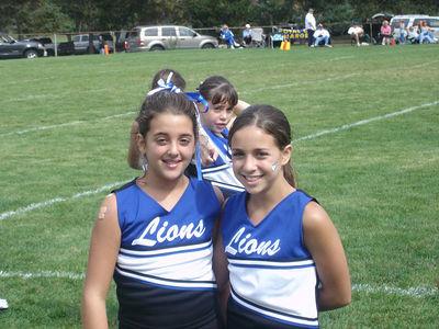 Shelby Lions Football Club - 2005 JV Cheer Squad
