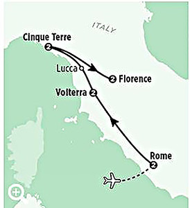 Heart of Italy with Rick Steves Tours