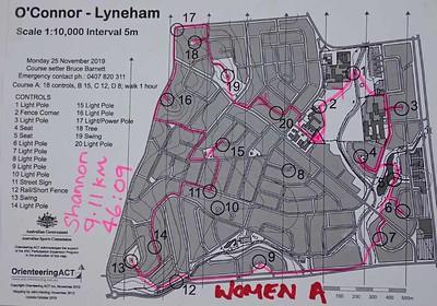 25 November 2019 Lyneham street O