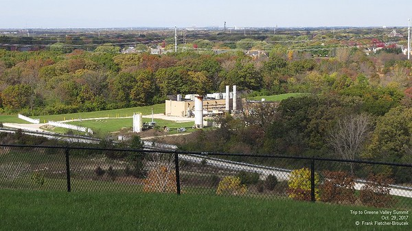 Top of the Greene Valley Landfill