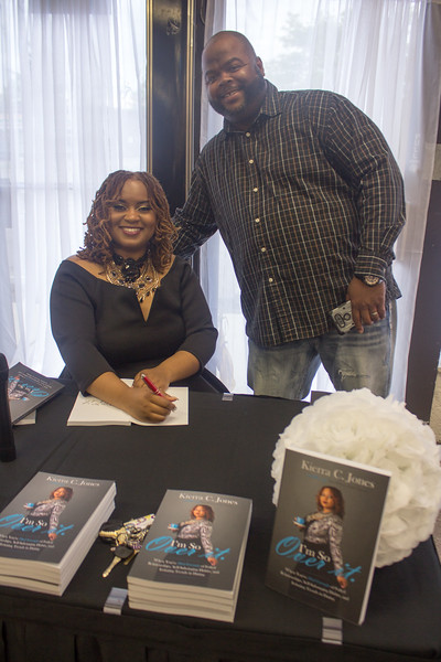 Kierra C. Jones - Book Release