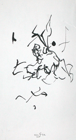 Calligraphy Student Expressions
