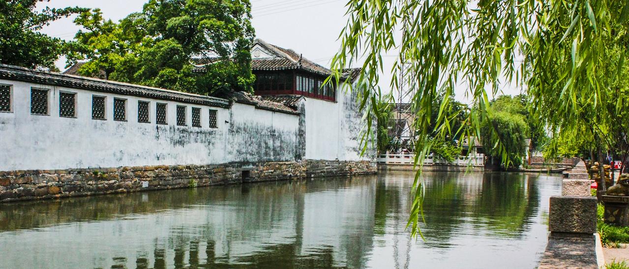 苏州藕园,江南水景