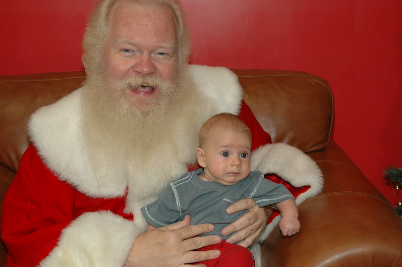 Santa at the Jumping Bean Nov 9, 2007