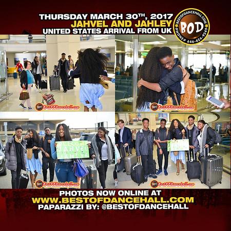 3-30-2017-LAGUARDIA AIR PORT-Welcome Home Jahvel And Jahlye