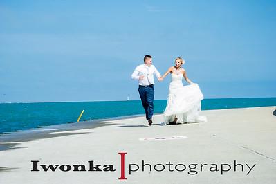 Joanna & Rob Trash after wedding love story