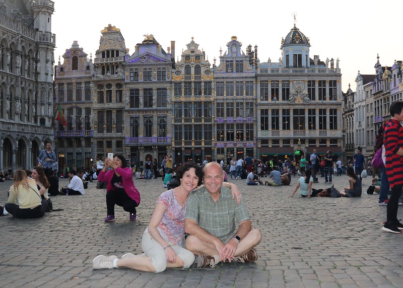 Soaking in the ambiance of the Grand Place - Brussels