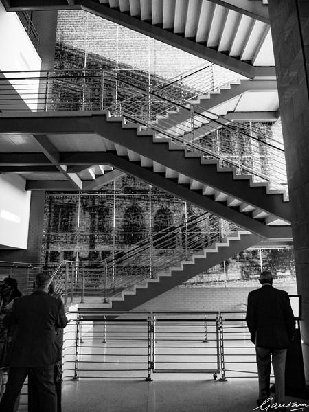 Stairs, County Court, Durham, North Carolina