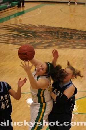 110204 Bishop Carroll vs Wichita East Girls