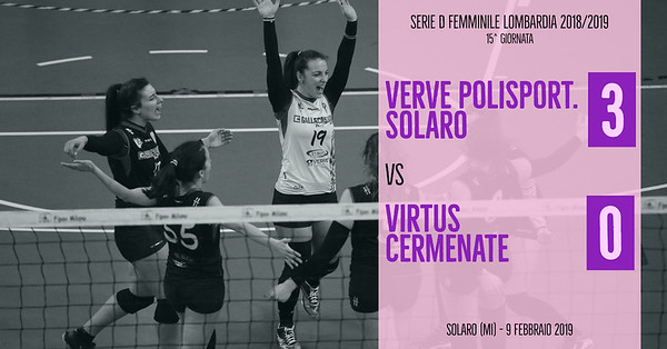 LOM-Df: 15^ Verve Polisportiva Solaro - Virtus Cermenate